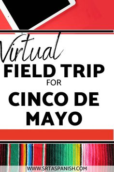 Need some ideas for Cinco de Mayo in your classroom? Check out these lesson plans and activities to help teach your classes the history of Cinco de Mayo in Mexico and the United States! Digital resources like websites, videos, Edpuzzles, virtual activities, interactive maps, Boom cards, and more make it easy to teach about Cinco de Mayo with no prep! Great sub plans too! Spanish 1, Spanish Class, Help Teaching, Teaching Spanish, Middle School Spanish, Spanish Lesson Plans, Virtual Field Trips, Interactive Map, Maps