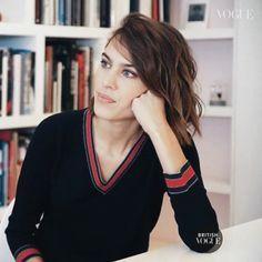 Alexa Chung snapshot of Fashion Documentary for British Vogue, 2016