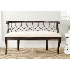 Norma Wood Entryway Bench