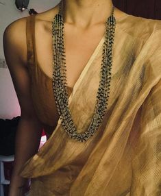 Curated online store for apparel and accessories. Indian Bridal Outfits, Indian Designer Outfits, Dress Indian Style, Indian Dresses, Cotton Saree Blouse Designs, Saree Jewellery, Saree Trends, Stylish Sarees, Saree Look