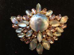 Vintage Designer Hattie Carnegie 1950s Brooch Pin by JewelsPast
