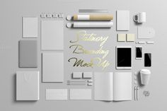 Stationery/Branding Mock-Up by PositivePixels on @creativemarket