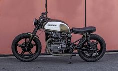 Woodgates Motorcycles - The Bike Shed Honda Cx500, Honda Motorcycles, Custom Motorcycles, Custom Bikes, Cars And Motorcycles, Tracker Motorcycle, Scrambler Motorcycle, Cx500 Cafe Racer, Cafe Racers