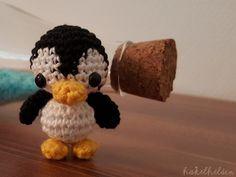 Gehäkelter Pinguin - Kostenlose Anleitung