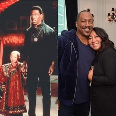 30 years later Eddie Murphy reunites with The Golden Child 80s Movie Characters, Trippy Pictures, Eddie Murphy, Golden Child, Double Take, 90s Kids, Celebs, Celebrities, Back In The Day