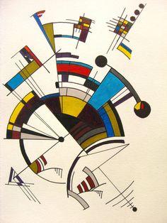 Linear artwork