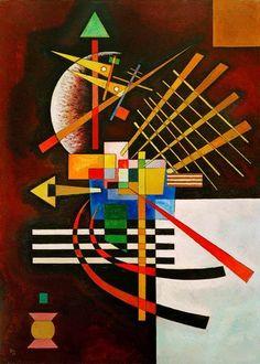 Vassily Kandinsky - Top and Left