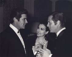 Peter Breck, Mara Corday (Richard's wife) and Richard Long