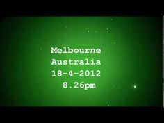 """3 fast moving ufos over MELBOURNE AUSTRALIA on April 18, 2012. Witness report: """"Tonight I saw 3 very fast UFO's travelling as a group. They change direction of travel and distance between themselves."""""""