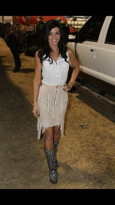 Tiffany! She has great style NFR14