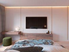 Harmadik lakás - Két világos és egy melegebb színekkel berendezett és dekorált lakás