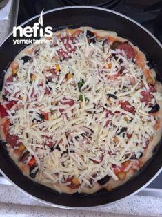 3-2-1 Tava Pizzasi (sadece 15 Dakikada)