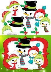 Santa Family on Craftsuprint - View Now!