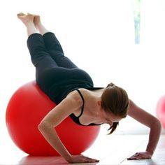 alongamento com pilates com bola - Pesquisa Google