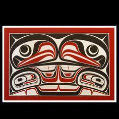 Robin Rorick ( Haida )  - Sacred Four