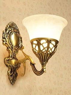 Bankers Lamp, Glass Wall Lights, Wall Light Fixtures, Wall Mounted Light, Black Floor Lamp, Old Wall, Living Room Lighting, Lamp Light, Antique Gold