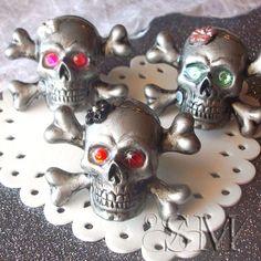 Larger skull rings
