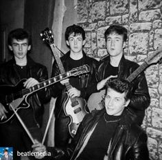 The Beatles @Regrann from @beatlemedia - The early days✌ . . . {#TheBeatles | #JohnLennon | #PaulMcCartney | #GeorgeHarrison | #RingoStarr | #RichardStarkey | #PaulMcCartneyandWings | #Macca | #Pol | #Beatle | #Beatles | #TheBeetles | #BeatleMedia |...