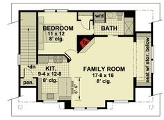 3 Car Garage Apartment with Class - 14631RK | Architectural Designs - House Plans