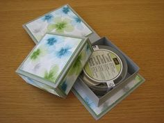 Stampin Up Box in a card - YouTube gift and card in one, shows how to make different sizes.