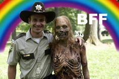 BFF in The Walking Dead