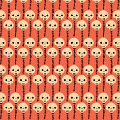spines 2 fabric by skellychic on Spoonflower - custom fabric
