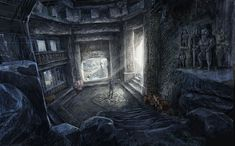 Environment Artwork from The Witcher 2: Assassins of Kings