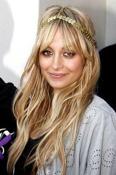 Nicole Richie's boho chic hairstyle