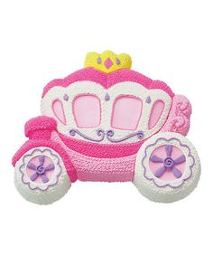 Take a look at this Princess Carriage Pan by Wilton on #zulily today! $12 !!