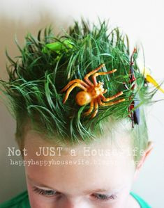 Insect Hair #crazyhairday #insecthair