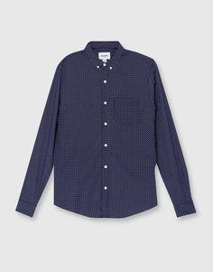 Camisa print manga larga - Camisas - Ropa - Hombre - PULL&BEAR Ecuador