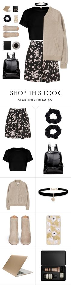 """""""heartbreaker"""" by ishipbullshit ❤ liked on Polyvore featuring Topshop, Accessorize, Bunn, Betsey Johnson, Aquazzura, Tucano, Aesop, polyvorecontest and librarychic"""