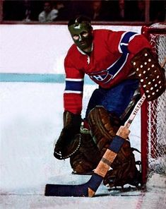 Tony Esposito - Montreal Hockey Room, Women's Hockey, Blackhawks Hockey, Hockey Cards, Chicago Blackhawks, Montreal Canadiens, Hockey Pictures, Sports Pictures, Goalie Mask