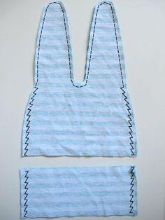Grátis Pattern Tie-Top Beanie ~ Jen de Tie Dye Diva | Sew Mama Sew | costura, quilting e tutoriais bordado pendentes desde 2005.