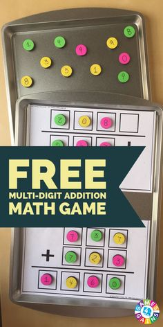 Race to the Sum: A Multi-Digit Addition Game – Games 4 Gains