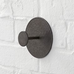 Disc Metal Hook in Storage | Crate and Barrel