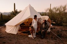This Saguaro National Park East Wedding Inspo Features All the Colors of the Desert Sunset Dark Red Wedding, Boho Wedding, Wedding Blog, Wedding Trends, Wedding Ideas, Canvas Tent, Desert Sunset, Photography Workshops, Bridal Shoot
