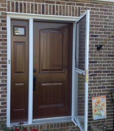 Woodgrain Door and Side Panel