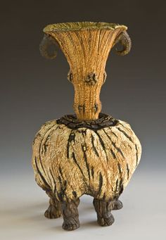 Zoomorphic Vessel, stoneware - Jan Kolenda