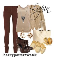 Harry Potter + Fashion. Those boots are fantastic!