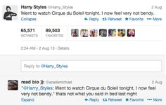 I'm sure he said that. | Community Post: The 11 Best Replies To One Direction's Tweets