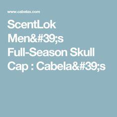 ScentLok Men's Full-Season Skull Cap : Cabela's