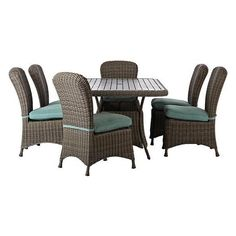 9 best patio furniture images outdoor dining set outdoors patio rh pinterest com