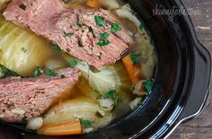 Crock Pot Corned Beef and Cabbage — Food Network