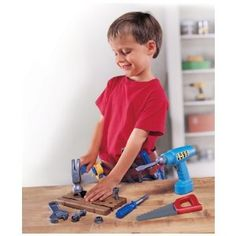 Amazon.com: Pretend and Play Work Belt Tool Set: Toys & Games