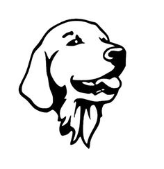 & Item Width: & Item Height: & Material Type: Vinyl Color: Black/Silver & ID: GRS Golden Retriever Head Car Sticker Source by thetopdogdeals The post Golden Retriever Head Car Sticker appeared first on Hines Havanese. Golden Retriever Kunst, Perros Golden Retriever, Retriever Puppies, Golden Retrievers, Yorkie Dogs, Pet Dogs, Chien Golden Retriver, Dog Tattoos, Dog Art