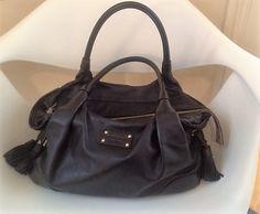 kate spade black hobo bag $195. available at link below:  http://madison.craigslist.org/clo/5612532076.html