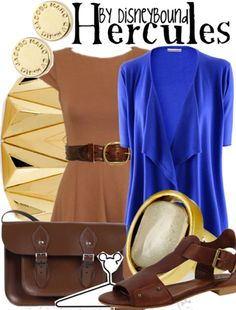 Hercules by DisneyBound POSSIBLE OUTFIT FOR DISNEY PROGRAM