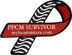 Custom Ribbon: PPCM SURVIVOR / myheartsisters.com