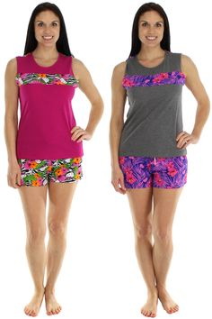 Hello Kitty Floral Fever Tropical Print Short Set